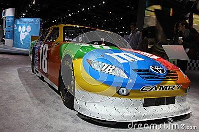 Chicago Auto Show race car