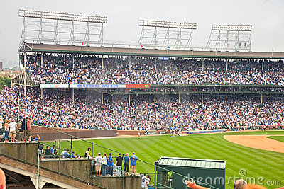 Chicago baseball Editorial Stock Image