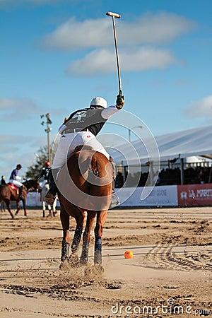 Chicago Beach Polo Editorial Photography