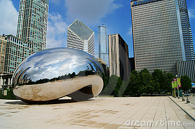 Chicago Bean Editorial Image