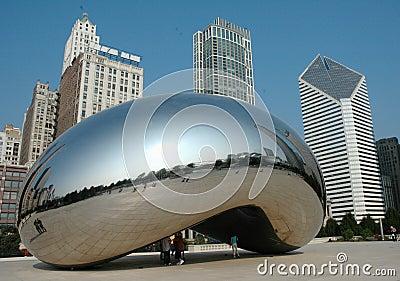 Chicago Bean Editorial Photography