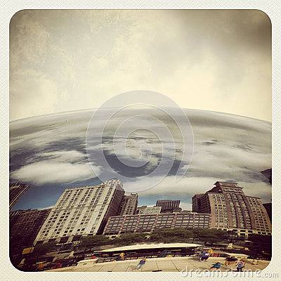 Chicago bean Editorial Photo