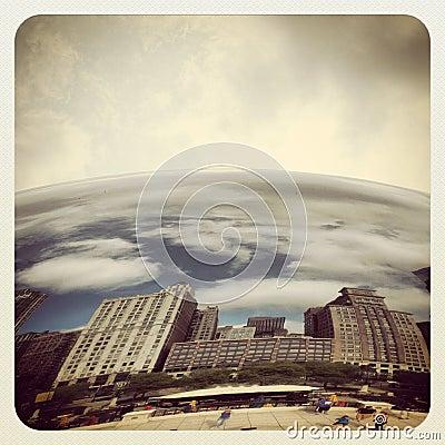 Chicago bean Editorial Photo