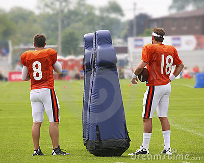 chicago bears training camp Editorial Photography