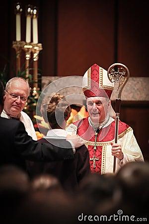Chicago - Bishop Francis Kane Editorial Stock Photo
