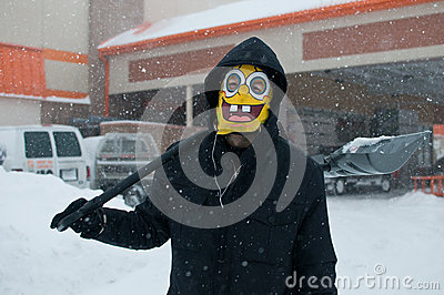 Chicago Blizzard Editorial Image