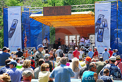 Chicago Blues Festival Editorial Stock Photo