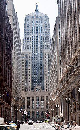 Chicago Board of Trade Editorial Photography