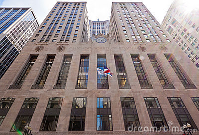 Chicago Board of Trade Editorial Stock Image