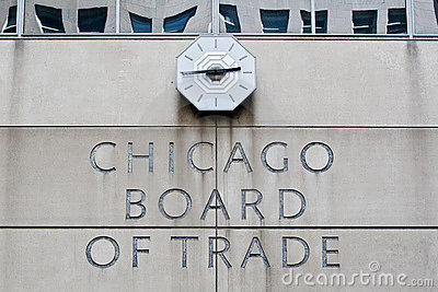 Chicago Board of Trade Editorial Stock Photo