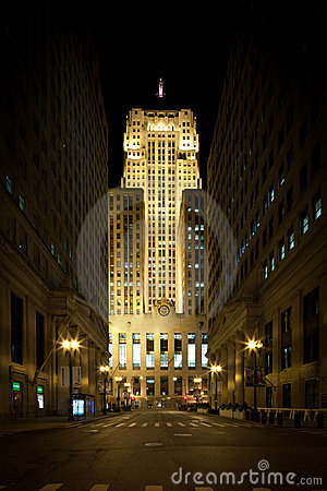 Chicago board of trade building Editorial Image
