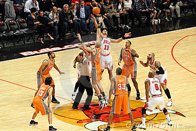 Chicago Bulls Vs Phoenix Suns Editorial Photo