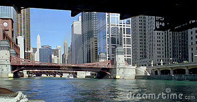 Chicago Canal Illinois USA