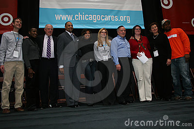 Chicago Cares Celebration of Service Editorial Photo