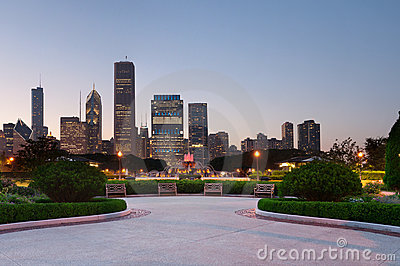 Chicago dotaci park