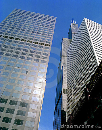 Chicago Downtown Buildings