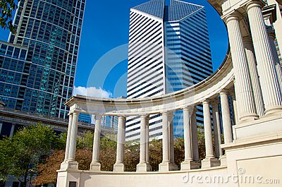 Chicago Founders of Millennium Park Editorial Photo