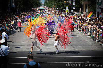 Chicago Gay Pride parade Editorial Photo