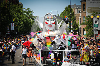Chicago Gay Pride parade Editorial Image