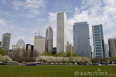 Chicago from Grant Park