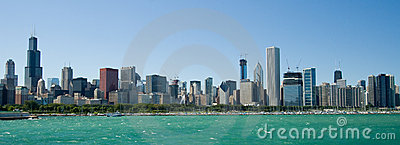 Chicago illinois horisont