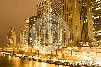 Chicago im Stadtzentrum gelegen