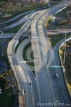 Chicago interstate.