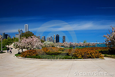 Chicago Lakefront garden