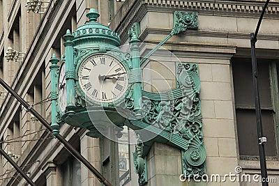 Chicago Landmark clock 2