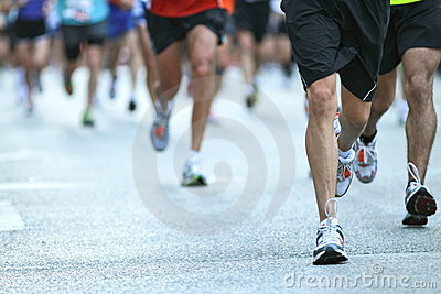 Chicago marathon Editorial Photo