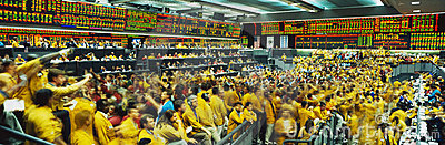 Chicago Mercantile Exchange Editorial Stock Image