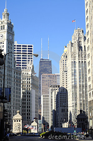 Chicago,Michigan Avenue
