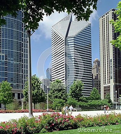 Chicago Millenium Park Illinois USA
