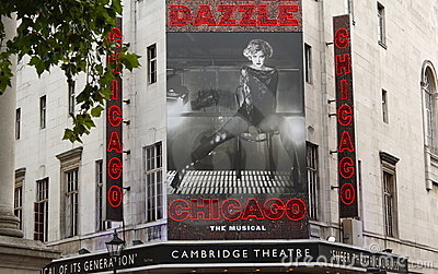 Chicago The Musical Editorial Photography