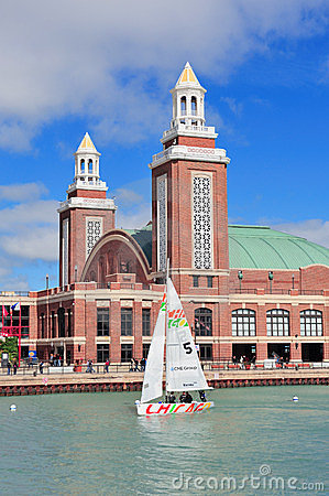 Chicago Navy Pier Editorial Stock Image
