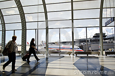 Chicago O Hare International Airport Editorial Photo