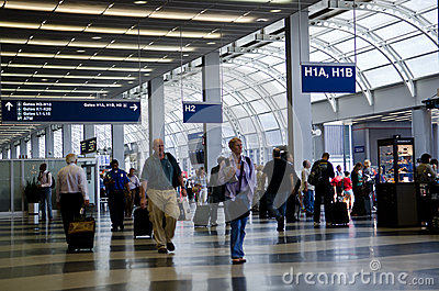 Chicago O Hare International Airport Editorial Photography