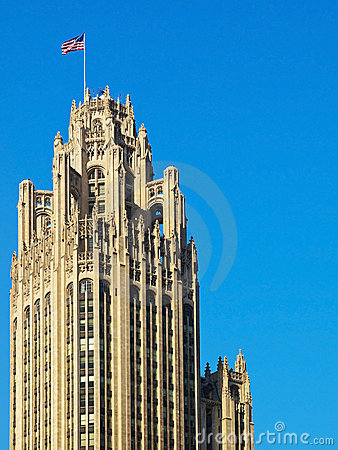 Free Chicago Old Architecture Stock Photography - 16536162