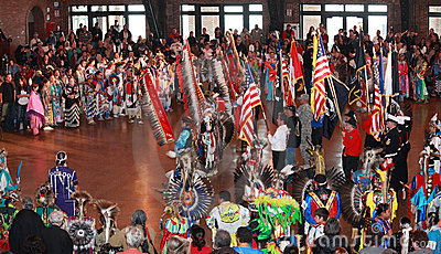 Chicago Pow Wow Editorial Photography