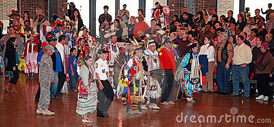 Chicago Pow Wow Editorial Stock Photo