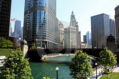 Chicago River City View