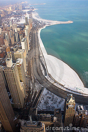 Chicago s Lake Shore Drive In Winter