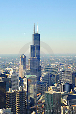 Free Chicago,Sears Tower Royalty Free Stock Photos - 3270868
