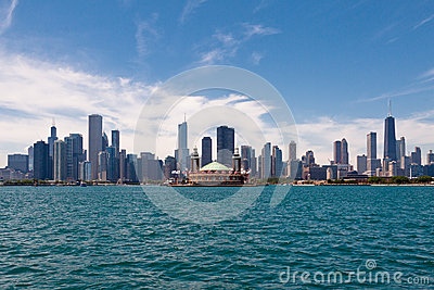 Chicago Skyline Editorial Image