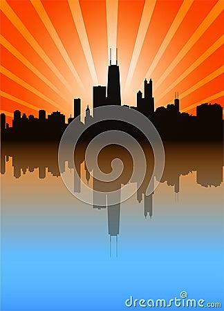 Free Chicago Skyline Stock Image - 2898031