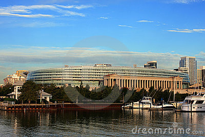 Chicago Soldier Field Editorial Stock Image