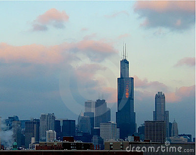 Chicago sunset