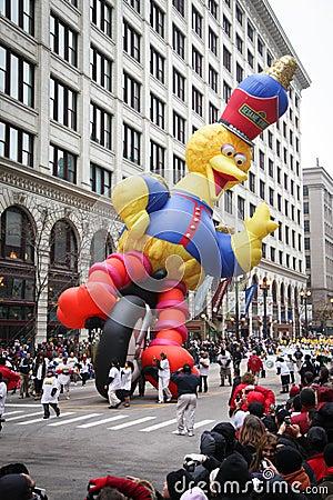 Chicago Thanksgiving Parade Editorial Photo