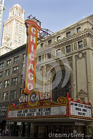 Chicago Theater 2 Editorial Photography