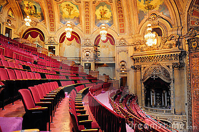 Chicago Theatre Editorial Stock Image